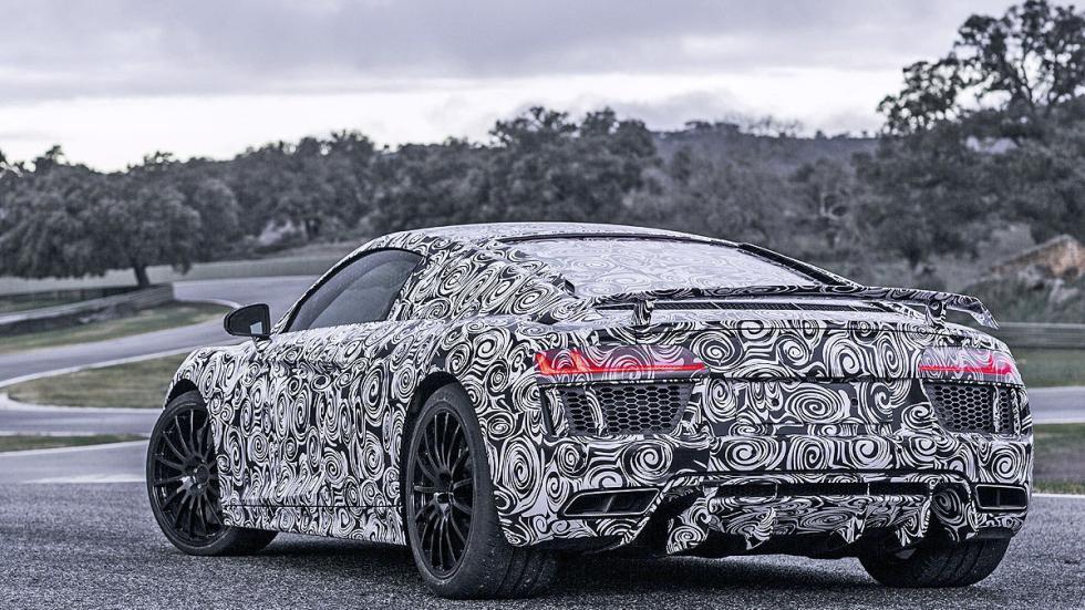Audi R8 2015 tres cuartos