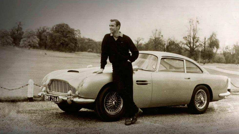 Aston Martin - James Bond -Sean Connery