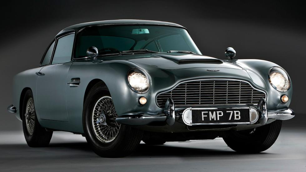 Aston Martin - James Bond -frontal