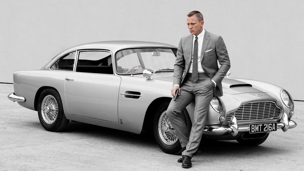 Aston Martin - James Bond - Daniel Craig