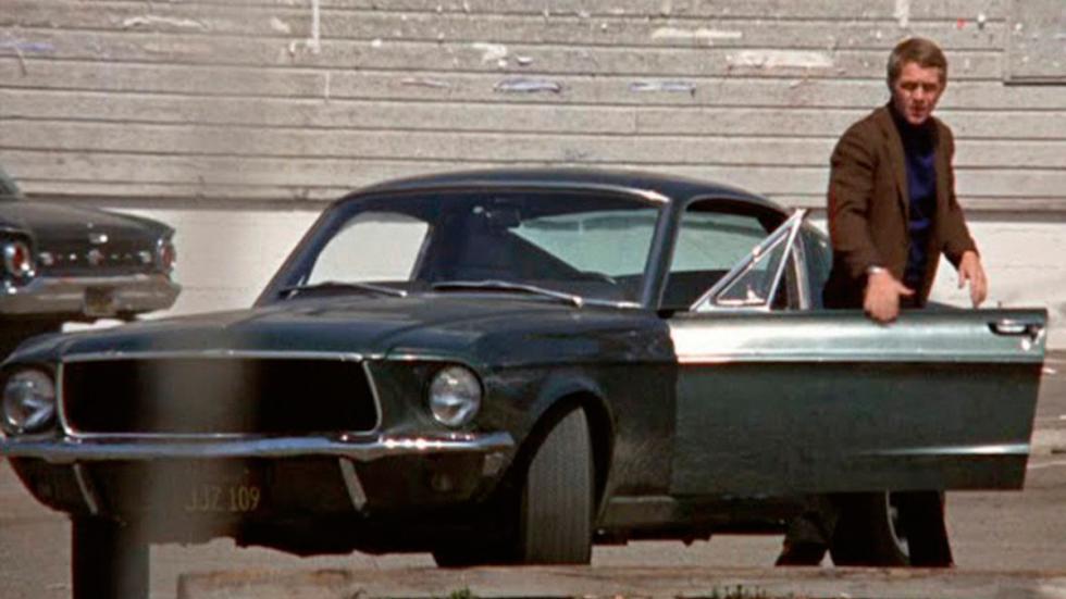 Bullit - Ford Mustang GT390 - Steve McQueen