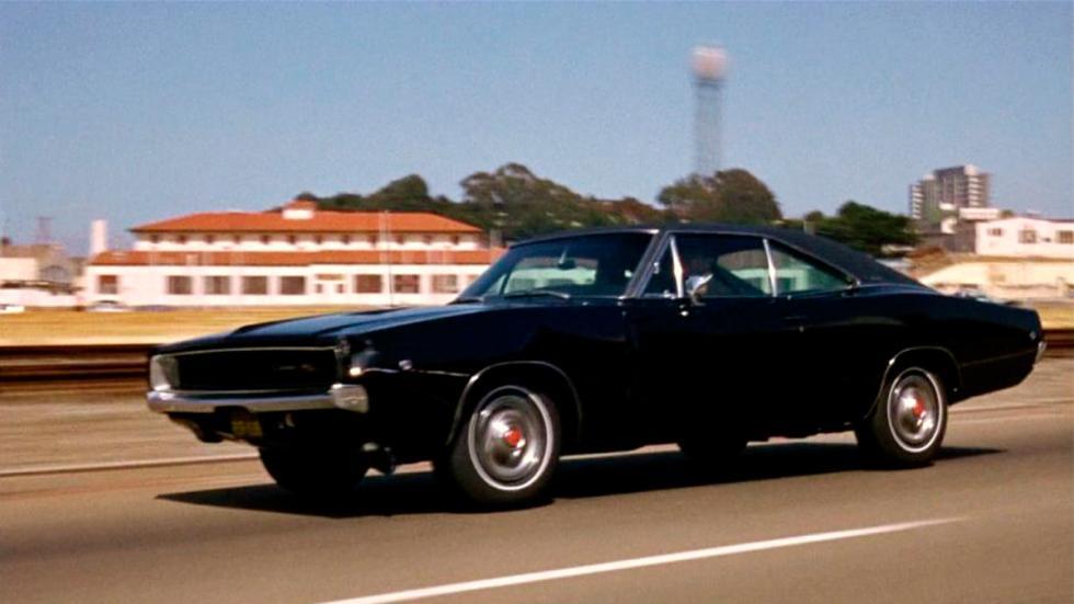 Bullit - Dodge Charger negro