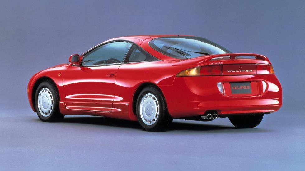 A Todo Gas - Mitsubishi Eclipse - trasera