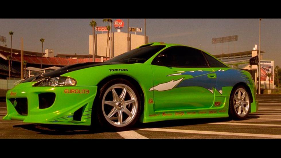 A Todo Gas - Mitsubishi Eclipse - película