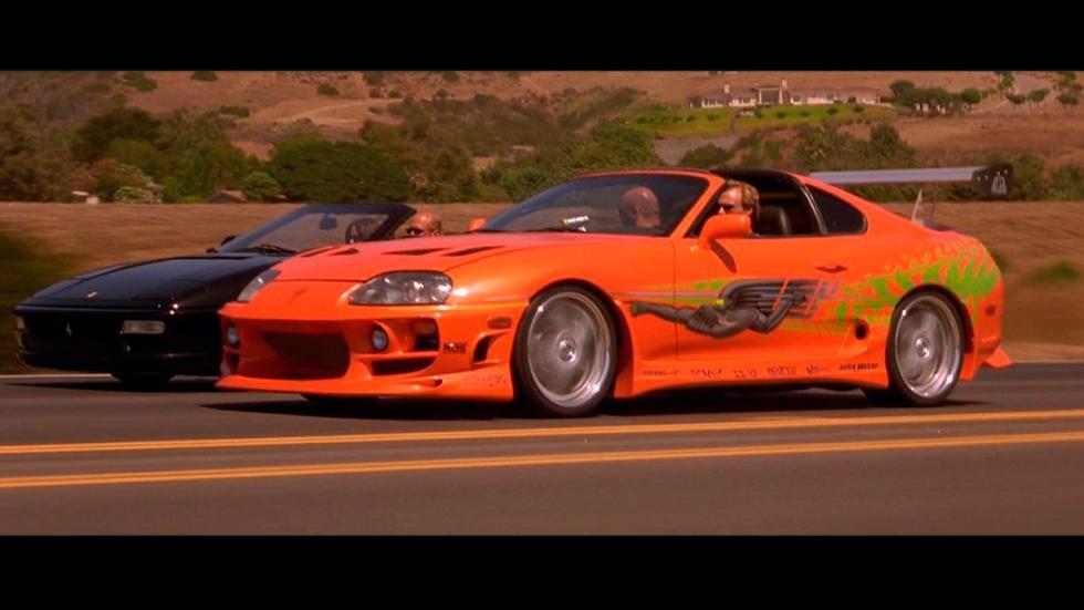 A Todo Gas - Toyota Supra naranja