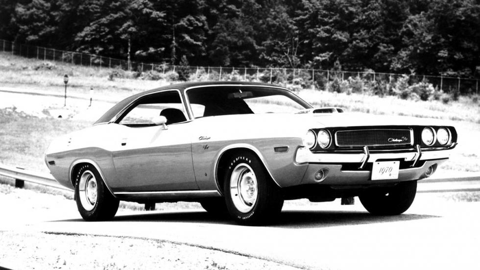 Vanishing Point - Dodge Challenger R/T - foto clásica