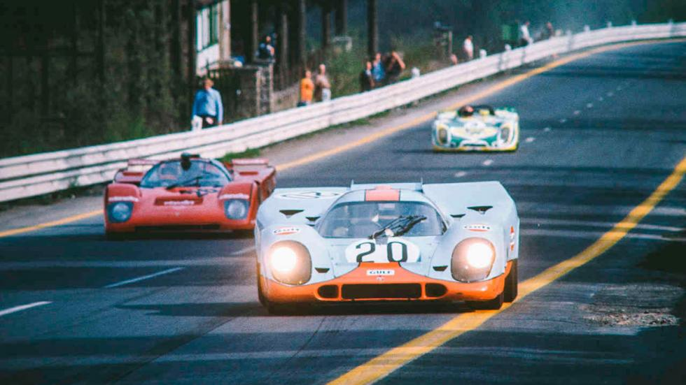 Le Mans - Porsche 917k - película - carrera