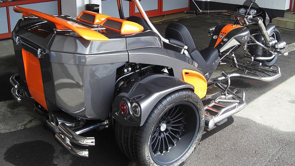 BoomMustangST1 Ultimate inspirada en Lambo asientos lateral tres cuartos traser