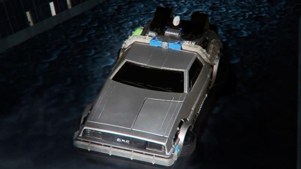 Carcasa DeLorean - Regreso al Futuro - apagado