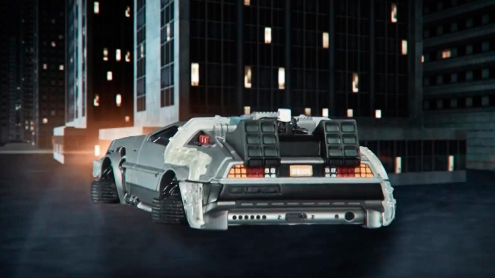 Carcasa DeLorean - Regreso al Futuro - trasera