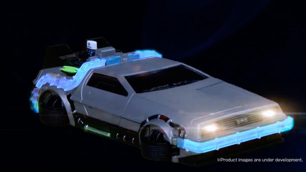 Carcasa DeLorean - Regreso al Futuro - llamada entrante