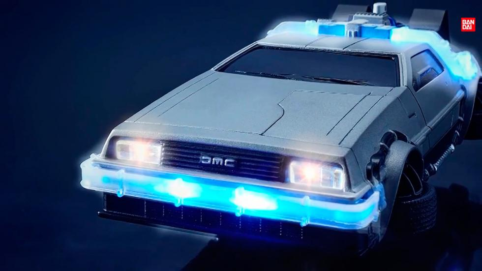 Carcasa DeLorean - Regreso al Futuro - iluminación frontal