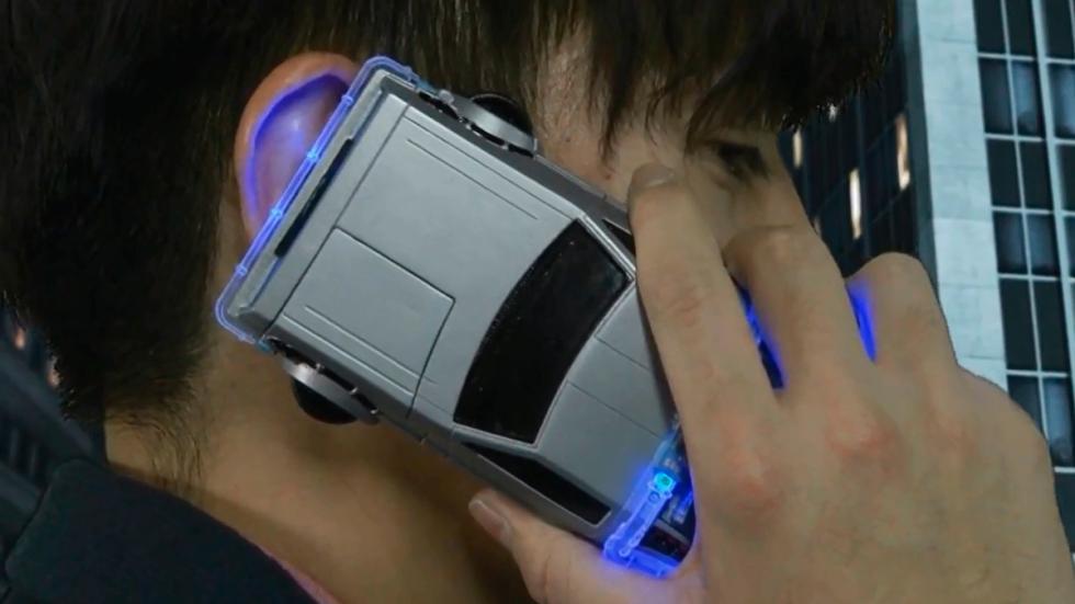 Carcasa DeLorean - Regreso al Futuro - primer plano