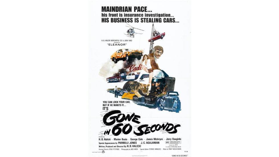 Gone in Sixty Seconds - cartel