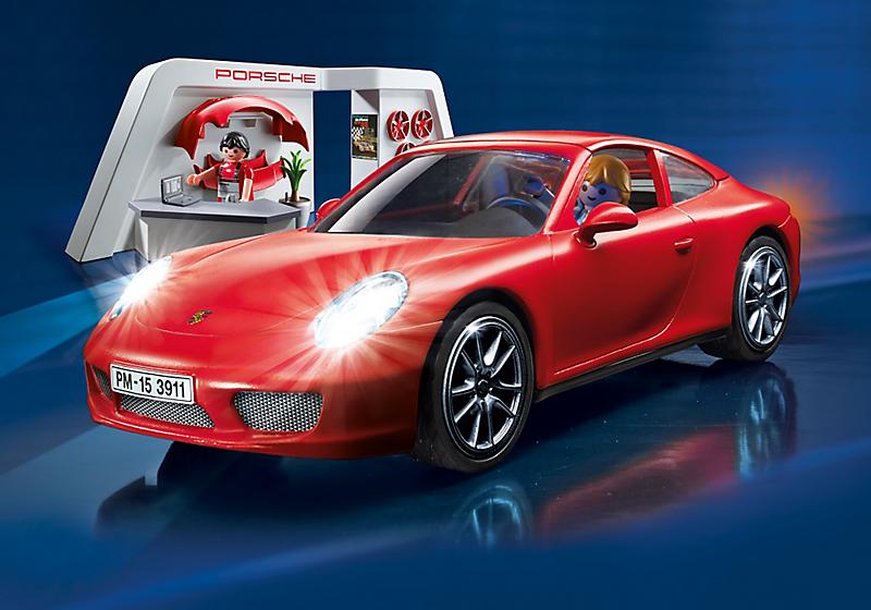 Porsche 911 Playmobil mostrador