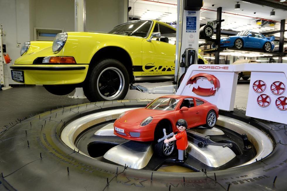 Porsche 911 Playmobil taller