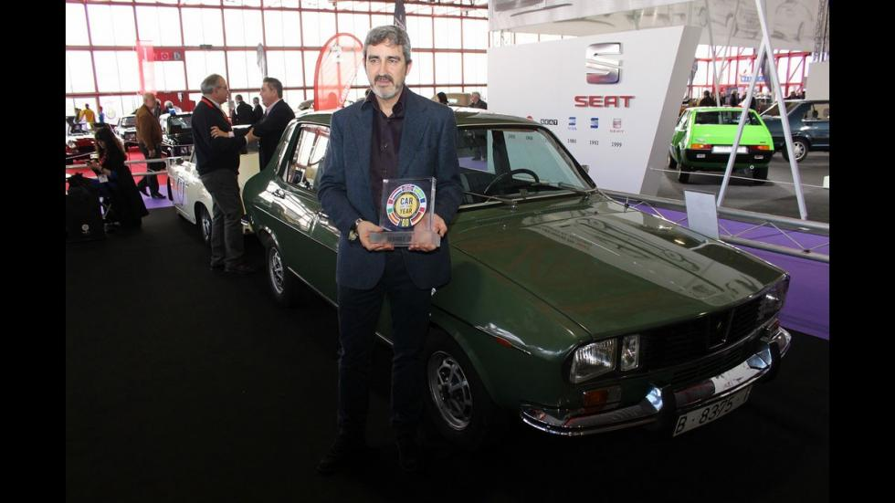 Renault 12 premio Golden Car of the Year
