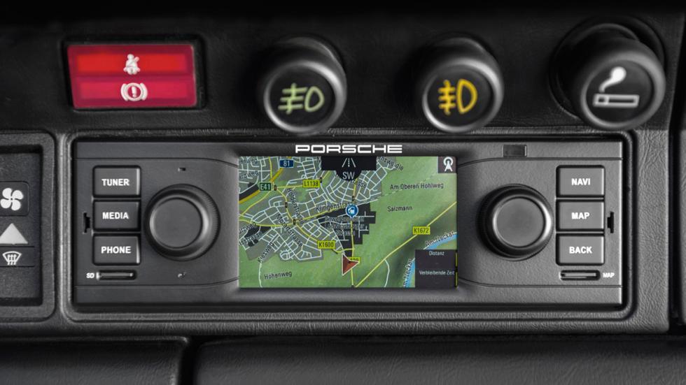Navegador para Porsche clásicos - navegador