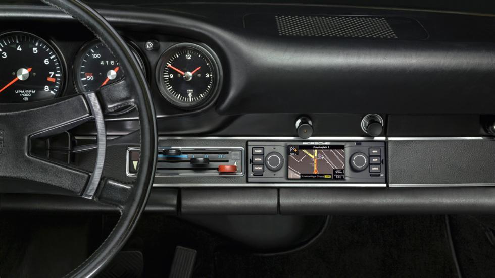 Navegador para Porsche clásicos - salpicadero Porsche 911 clásico