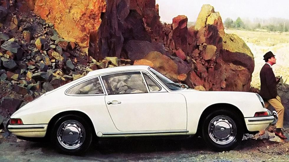 Navegador para Porsche clásicos - 911 blanco