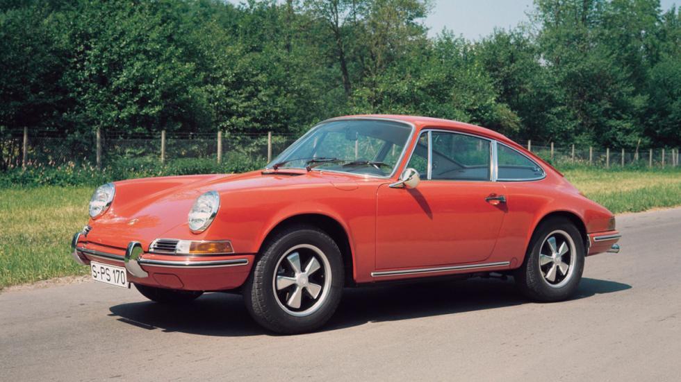 Navegador para Porsche clásicos - 911 rojo