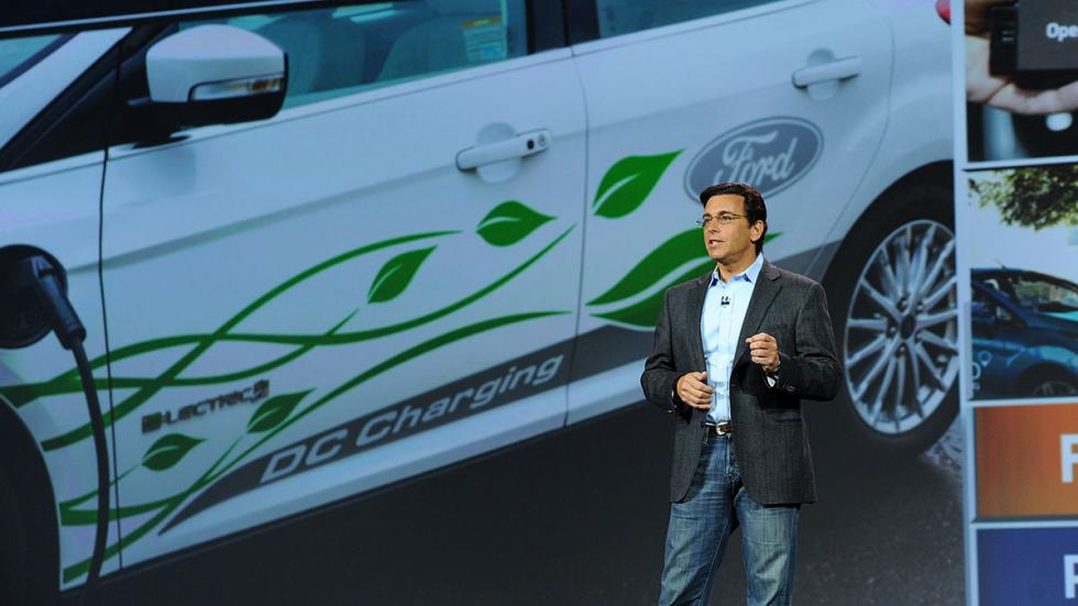Mark Fields presidente y CEO de Ford