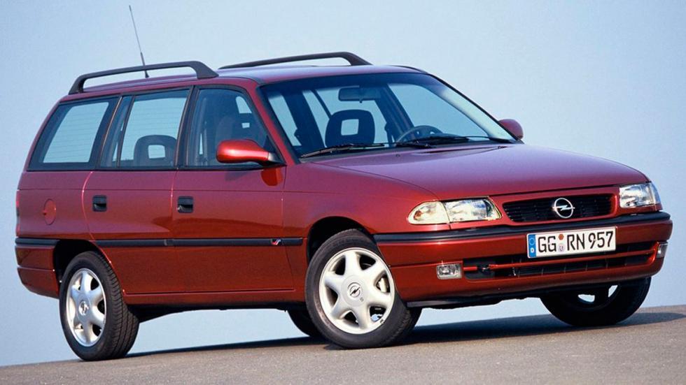 Cuánto cuesta, de segunda mano, un coche de película - Opel Astra Caravan