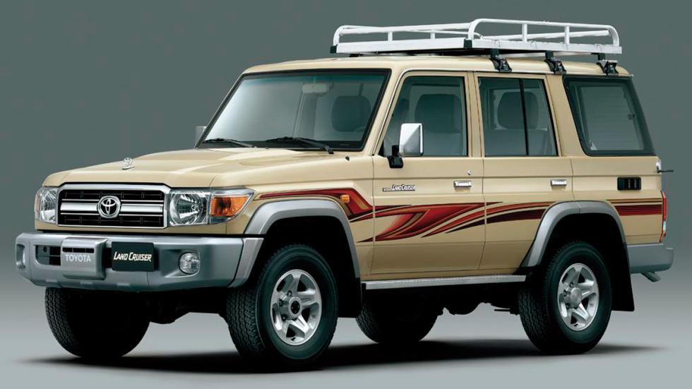 Cuánto cuesta, de segunda mano, un coche de película - Toyota Land Cruiser LJ70