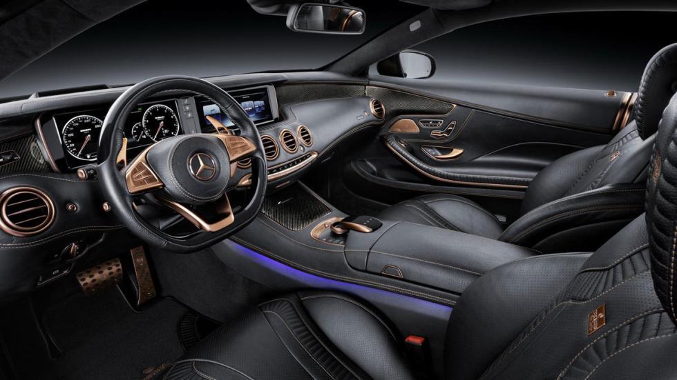 Brabus 850 S 63 AMG Coupe interior