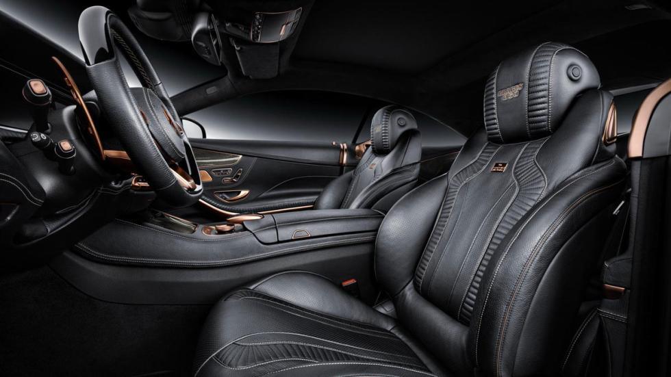 Brabus 850 S 63 AMG Coupe asientos