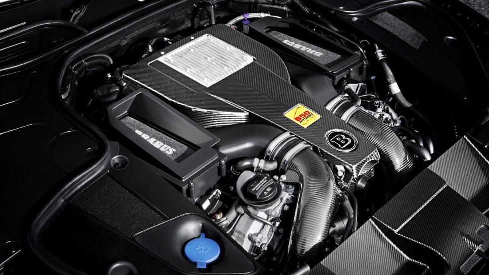 Brabus 850 S 63 AMG Coupe motor