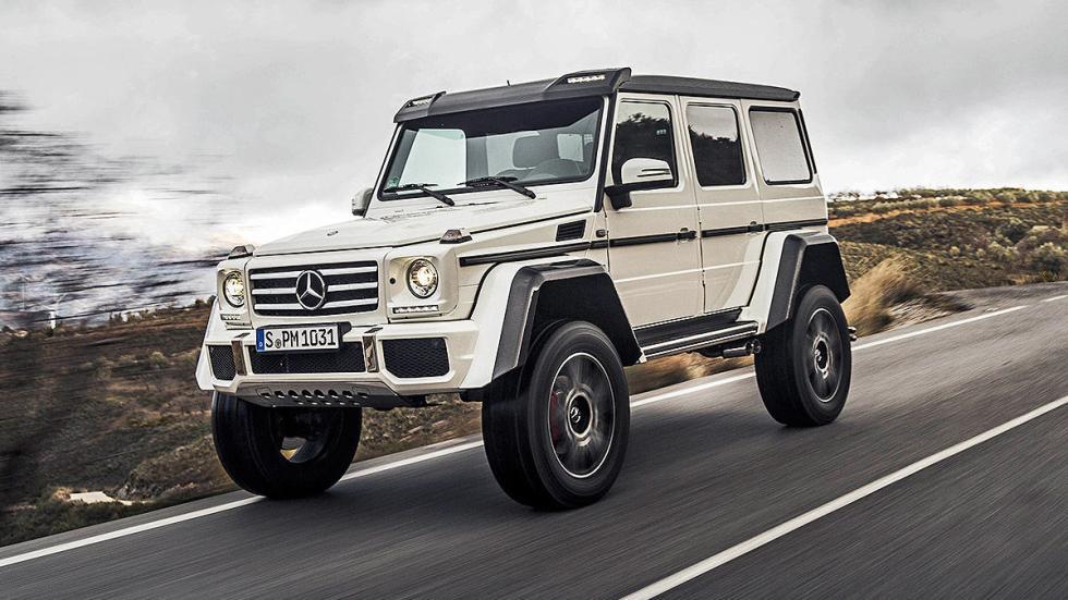 Prueba: Mercedes G 500 4x4²