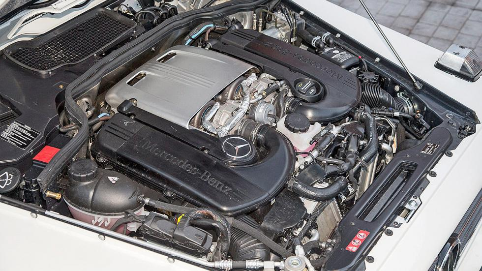 Prueba: Mercedes G 500 4x4² motor