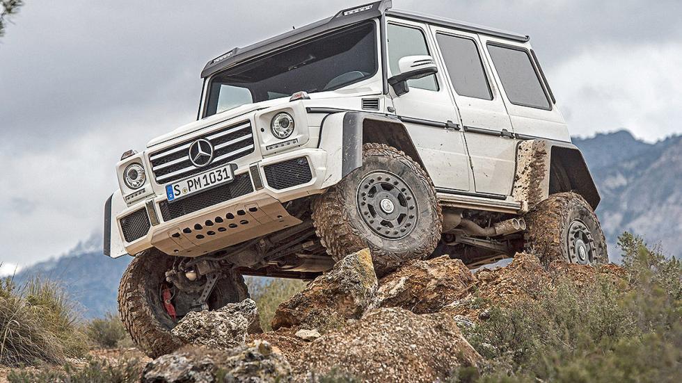 Prueba: Mercedes G 500 4x4² offroad