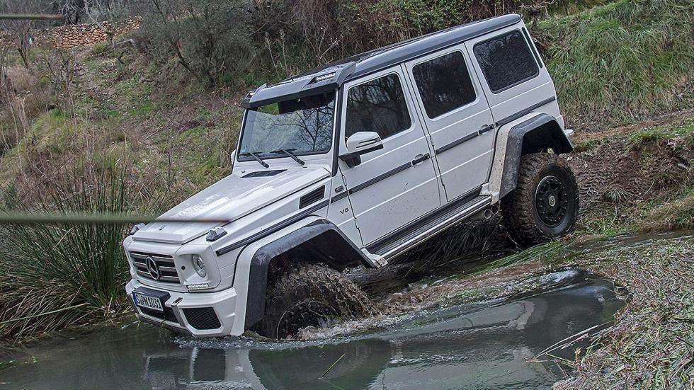 Prueba: Mercedes G 500 4x4² offroad morro vadeo