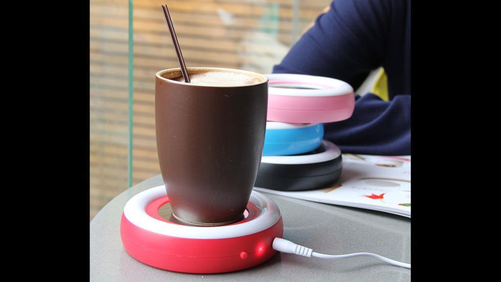 Calienta bebidas con USB