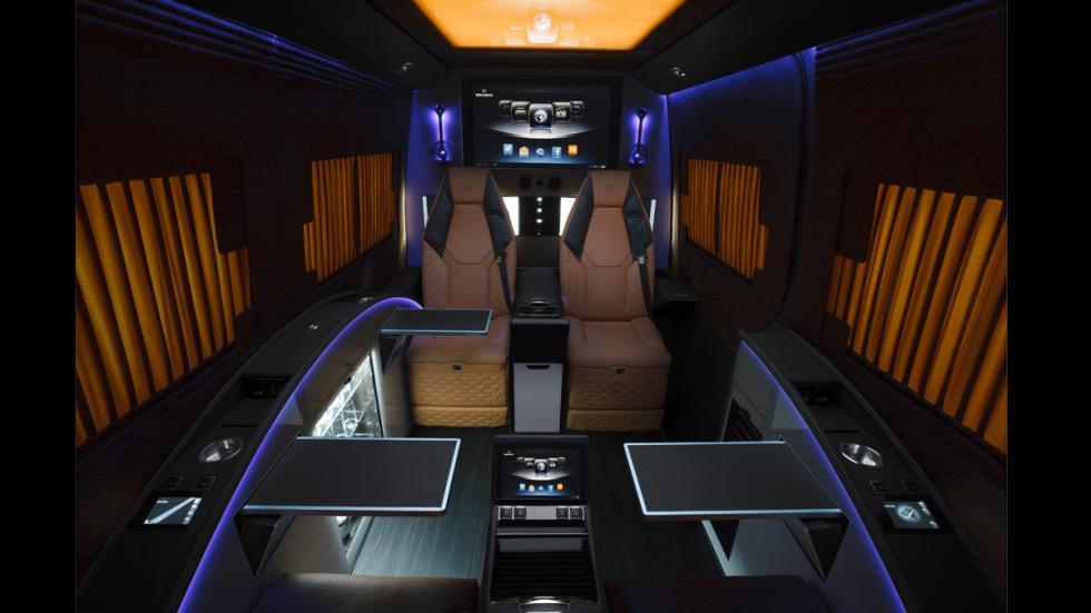 Mercedes Sprinter Limousine Brabus - iluminación interior