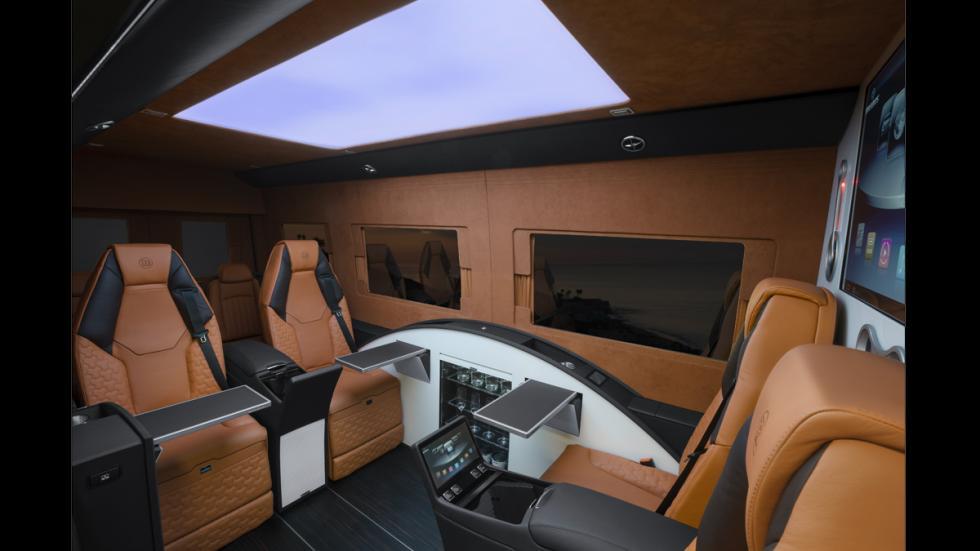 Mercedes Sprinter Limousine Brabus - techo blanco