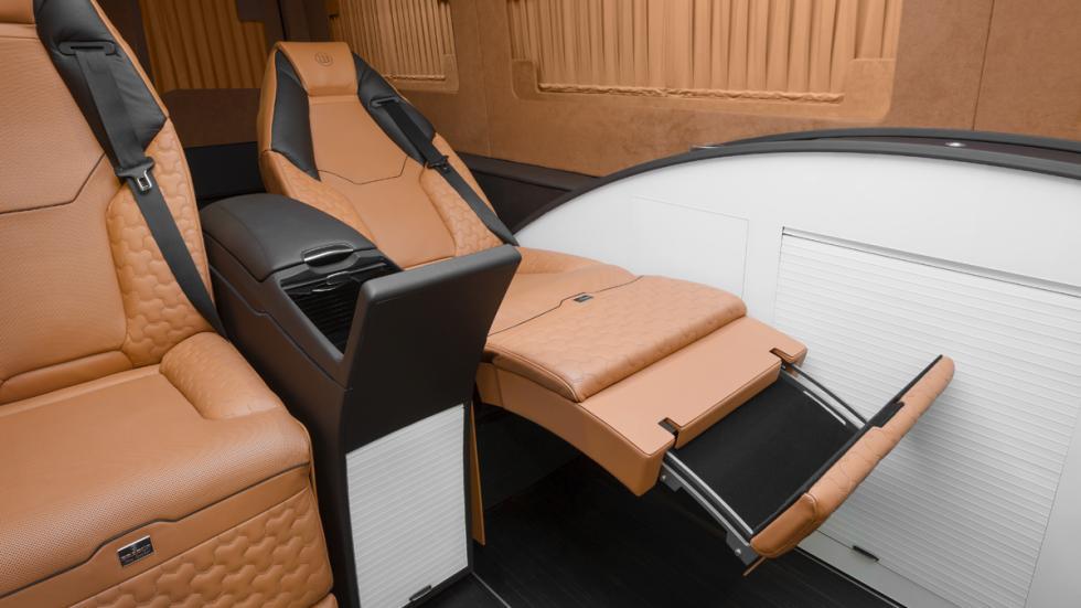 Mercedes Sprinter Limousine Brabus - asiento