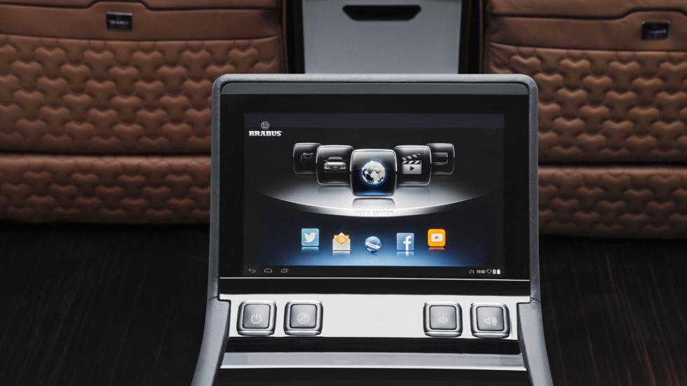 Mercedes Sprinter Limousine Brabus - pantalla