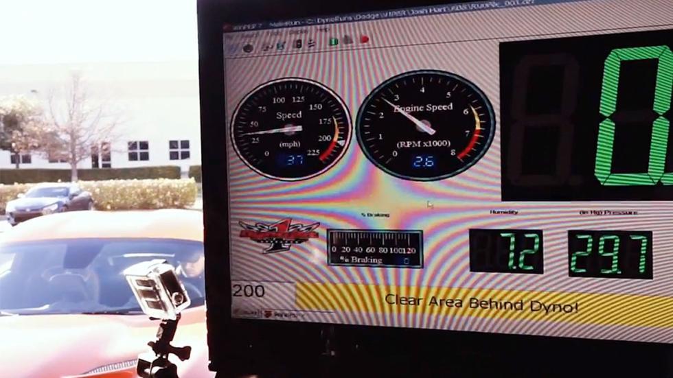 Un Viper radical de 1.500 CV taller test circuito