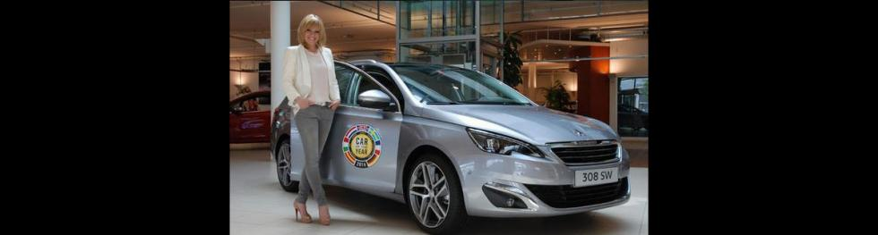 Francine Jordi es embajadora de Peugeot