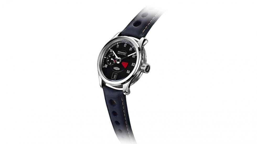 Reloj de pulsera Bremont Jaguar MKII, detalle