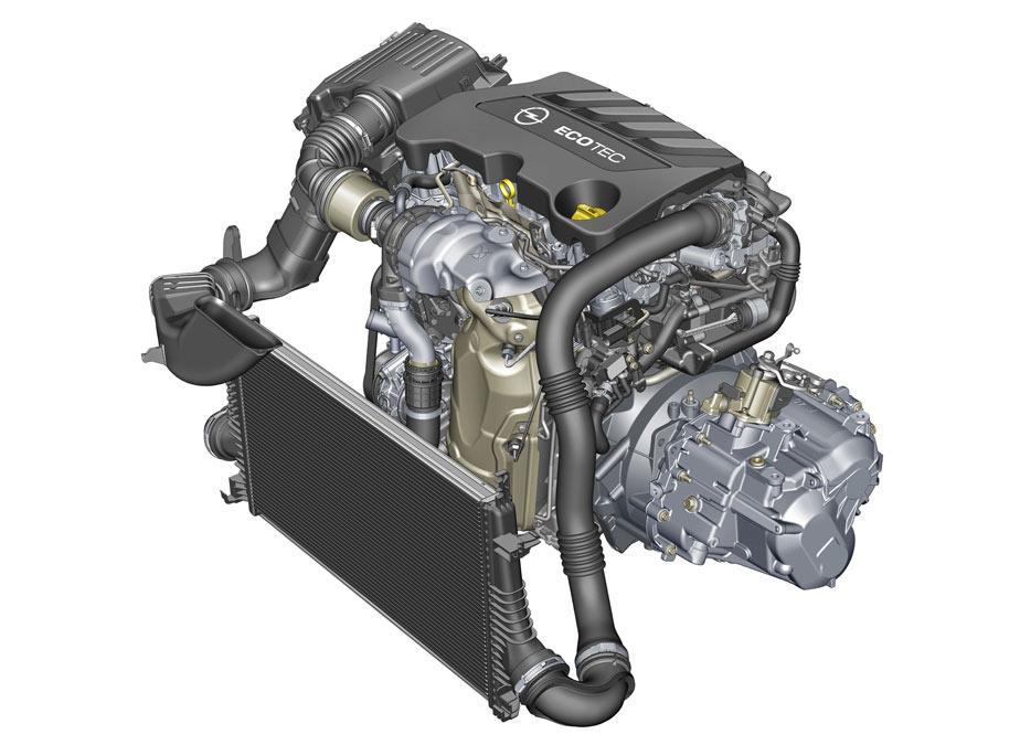 Opel Insignia 2.0 CDTI 170 motor
