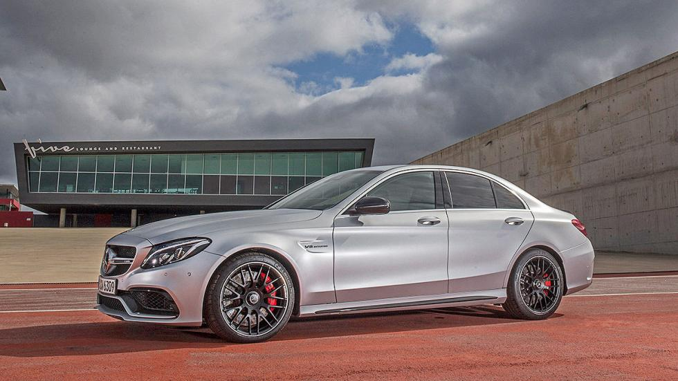 Prueba radical: MercedesAMG  C 63  S lateral