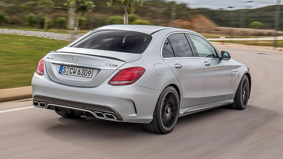 Prueba radical: MercedesAMG  C 63  S escapes zaga