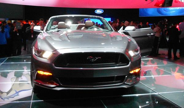 ford mustang 2015 cabrio frontal