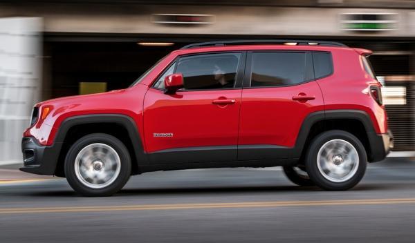 Lateral del Jeep Renegade