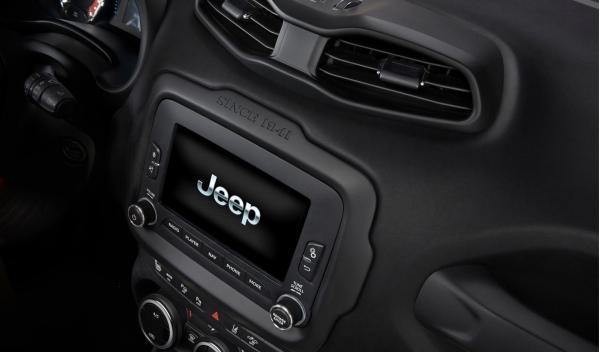 Sistema Uconnect del Jeep Renegade