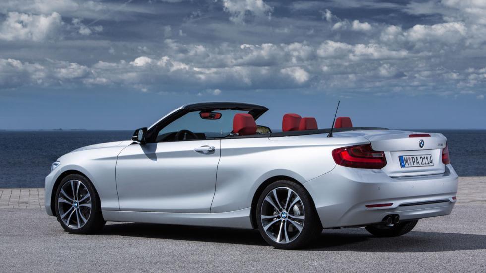 BMW Serie 2 Cabrio trasera